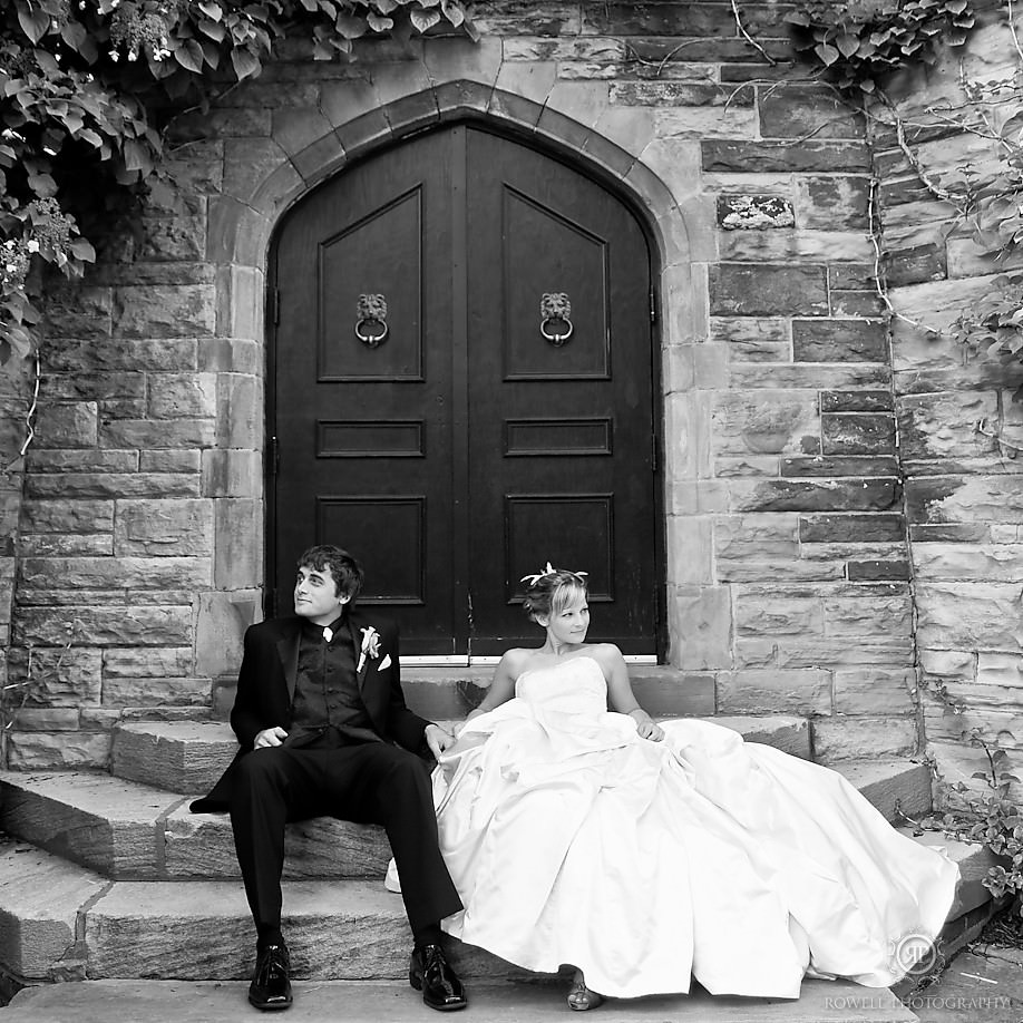 Casa Loma - Bride & Groom 2