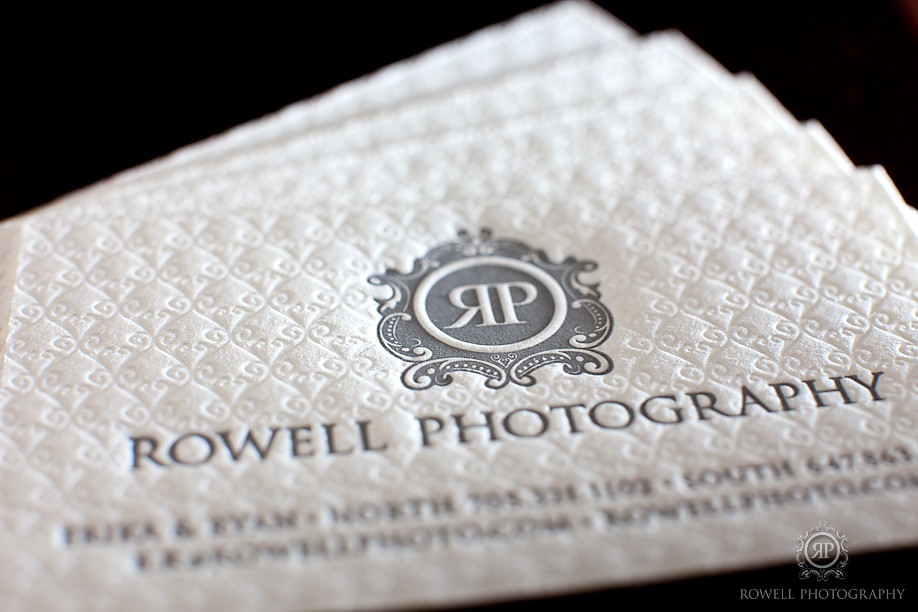 Rowell Photography Business Card