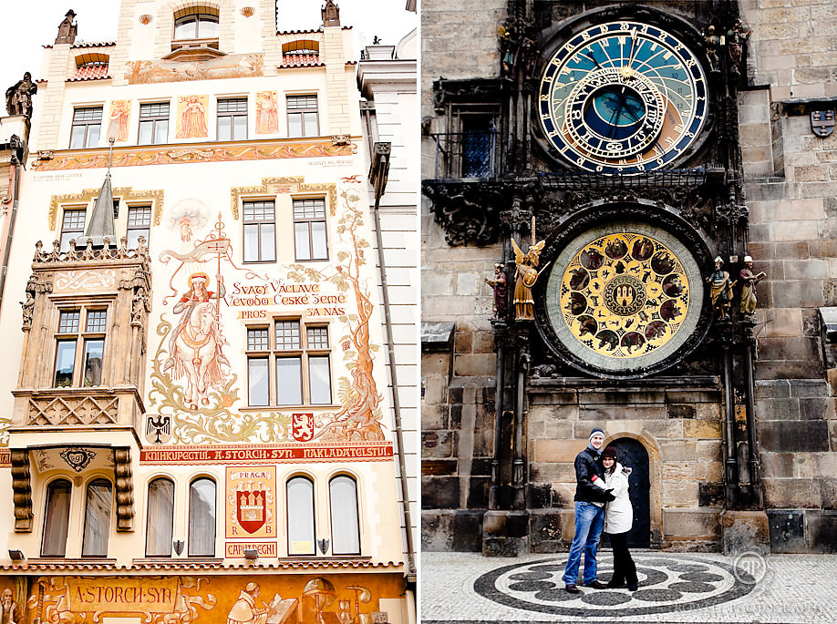 clock prague old town Prague, Czech Republic   City of 100 Spires