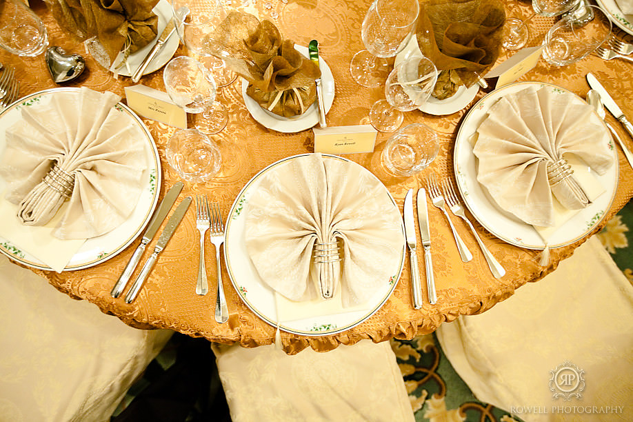 four season hotel prague table wedding1 Prague, Czech Republic Wedding Hluboka Castle