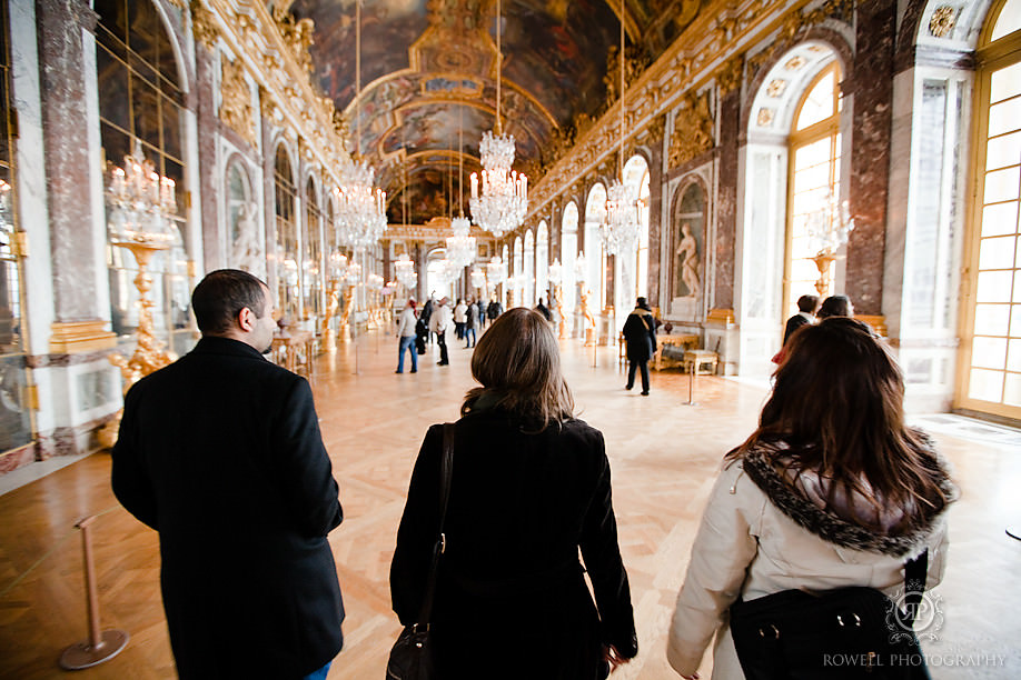 hall of mirrors versailles palace Honeymoon Escape   Tara & Ryan   Versailles, FR.