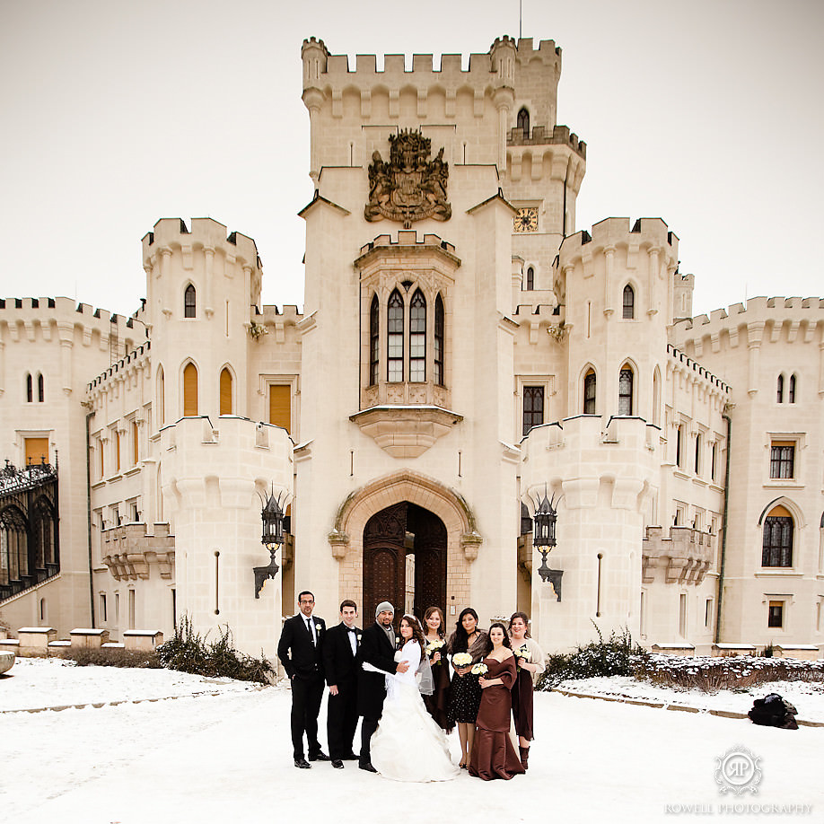 hluboka castle winter wedding czech republic Prague, Czech Republic Wedding Hluboka Castle