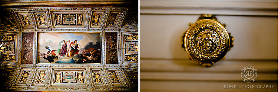 versailles ceiling and doorknob Honeymoon Escape   Tara & Ryan   Versailles, FR.