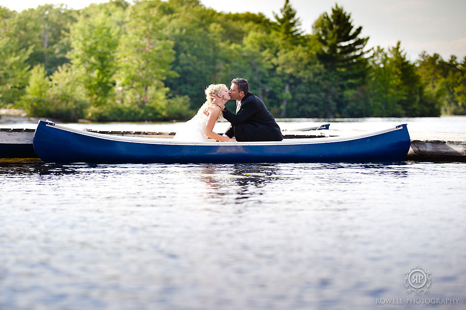 wedding in muskoka lakes christies mill