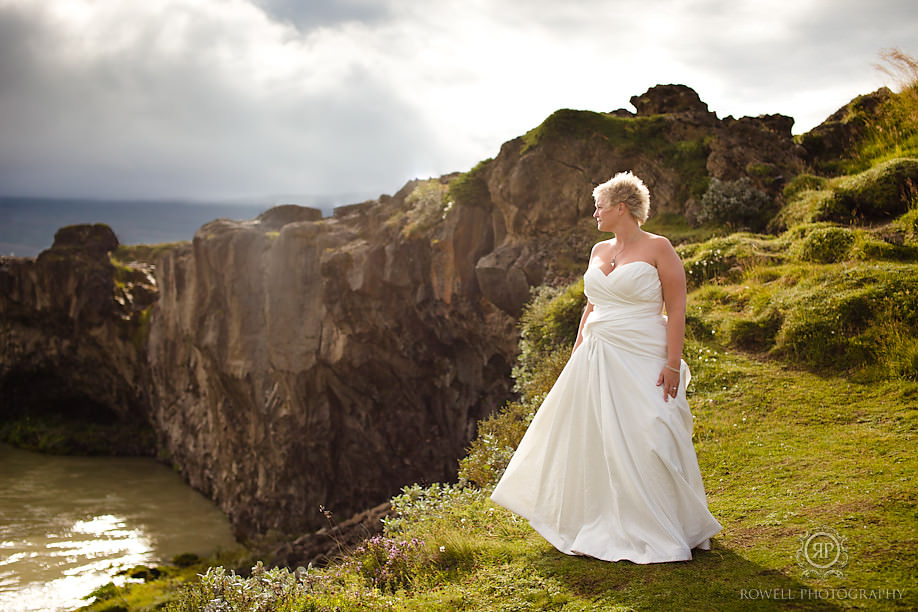 bridal portraits iceland Destination Iceland Honeymoon