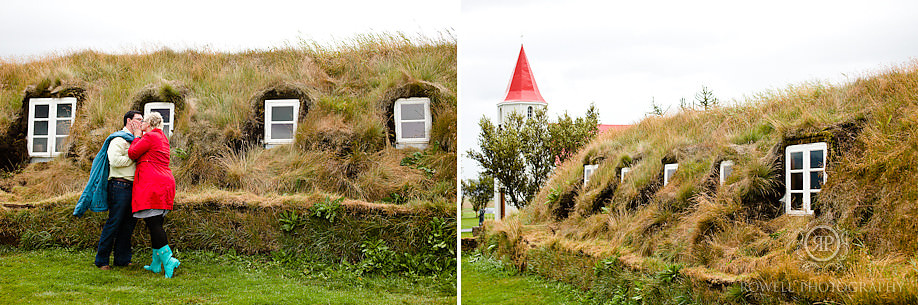 turf houses iceland couples shoot 1 Destination Iceland Honeymoon