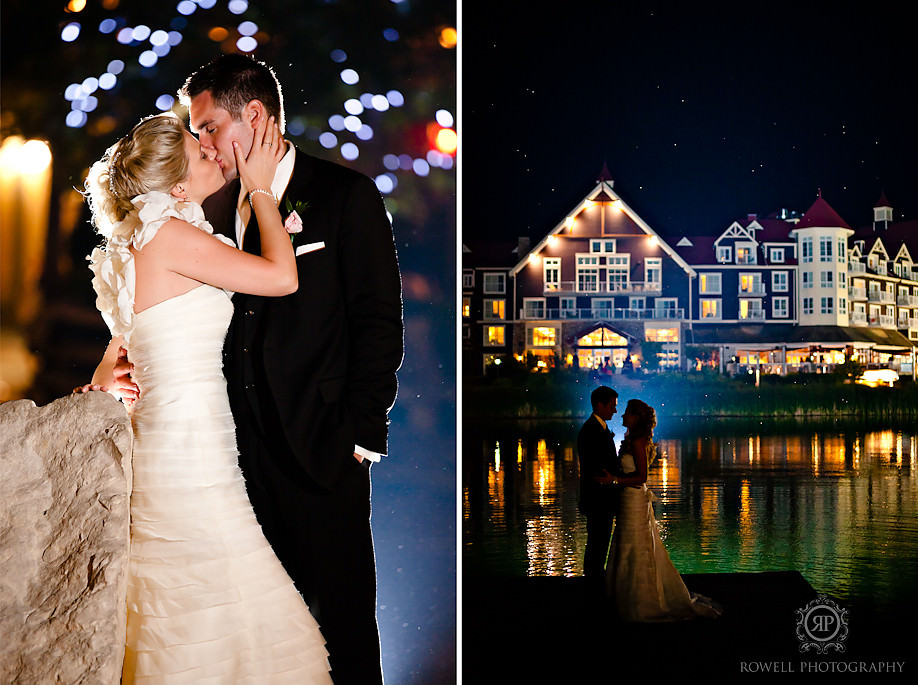 blue mountain at night wedding Blue Mountain Resort Wedding   Collingwood, ON