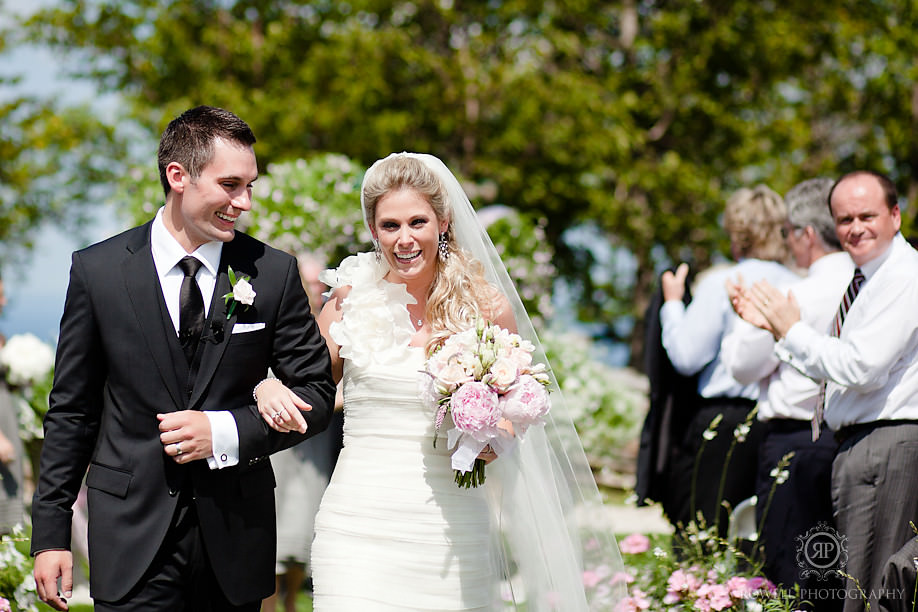 vera wang wedding dress blue mountain wedding Blue Mountain Resort Wedding   Collingwood, ON