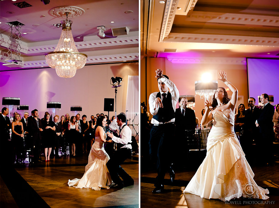 best wedding reception dance ever Paul & Leanna at Glendon Hall & The Royalton   Toronto Wedding