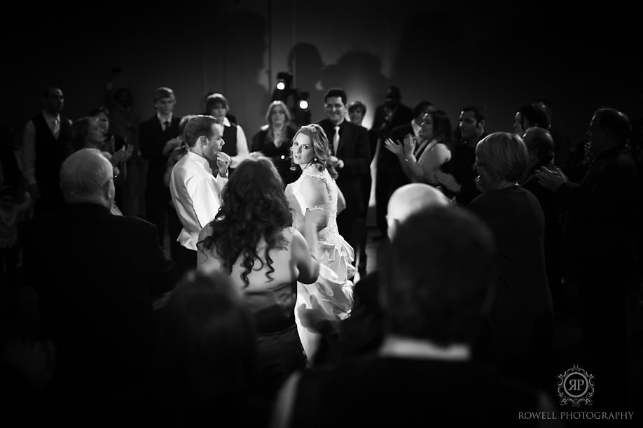 bride dancing hora jewish toronto wedding Shiri & Jon at Union Station & Hazelton Manor, Toronto Wedding