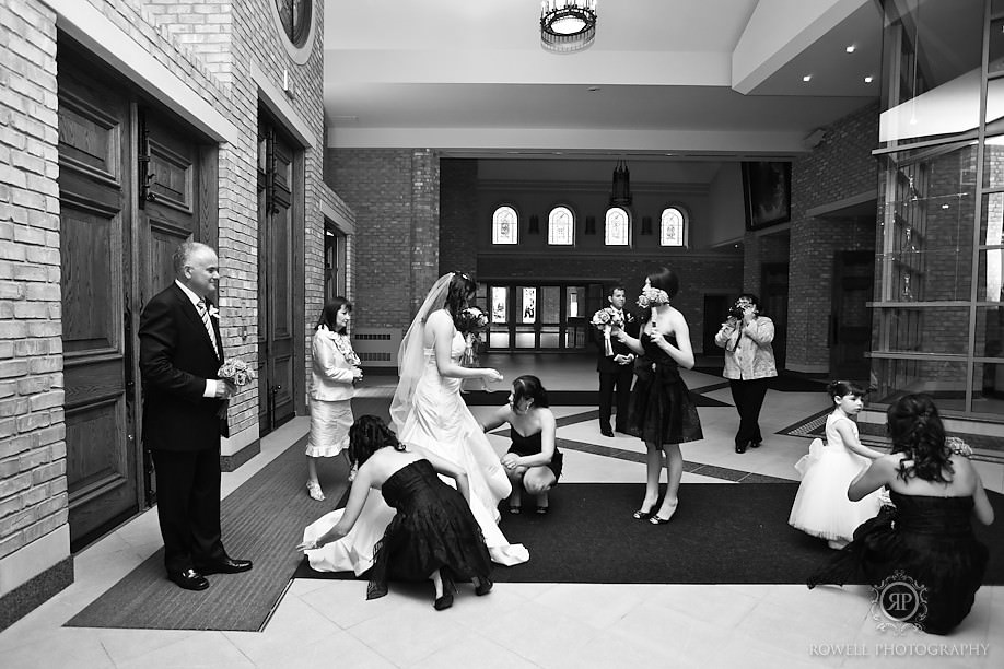wedding ceremony photography toronto Paul & Leanna at Glendon Hall & The Royalton   Toronto Wedding