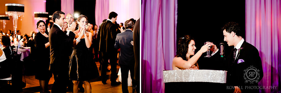 wedding reception in wedluxe magazine Paul & Leanna at Glendon Hall & The Royalton   Toronto Wedding