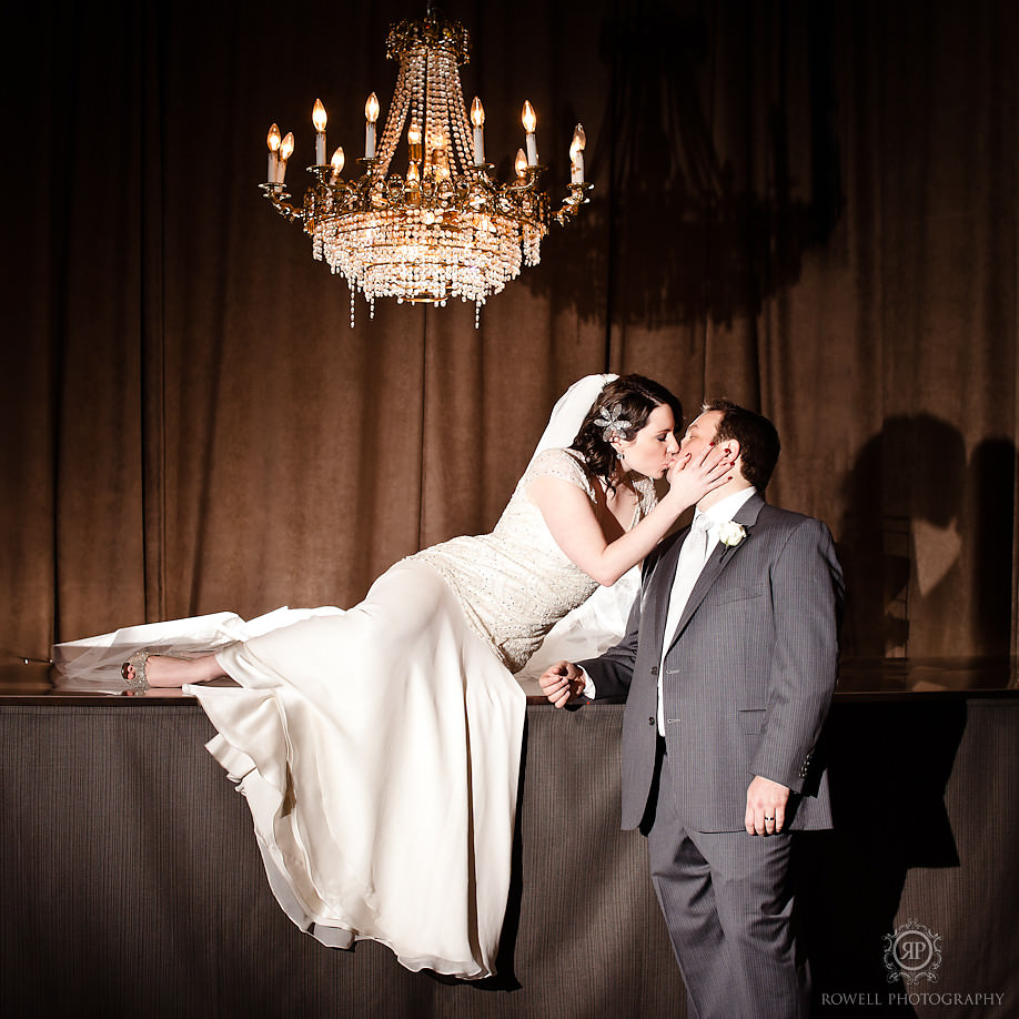 romantic wedding portraits Melissa & Rob at The Berkeley Church   Toronto Wedding