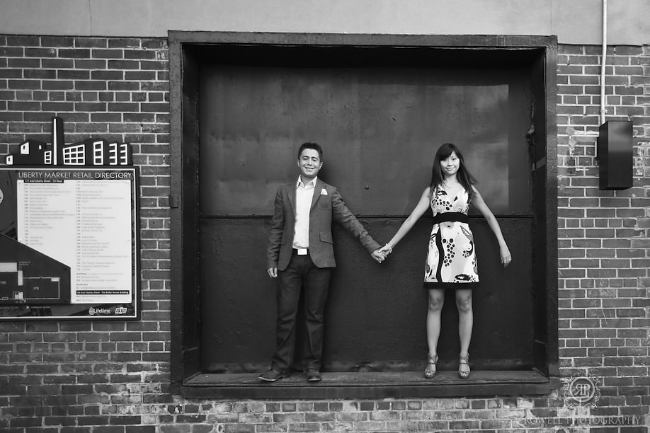 creative toronto engagement photography Liberty Village Engagement   Angelina & Tyler   Toronto, ON