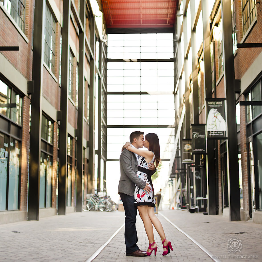 Pre Wedding Engagement Shoot in Liberty Village