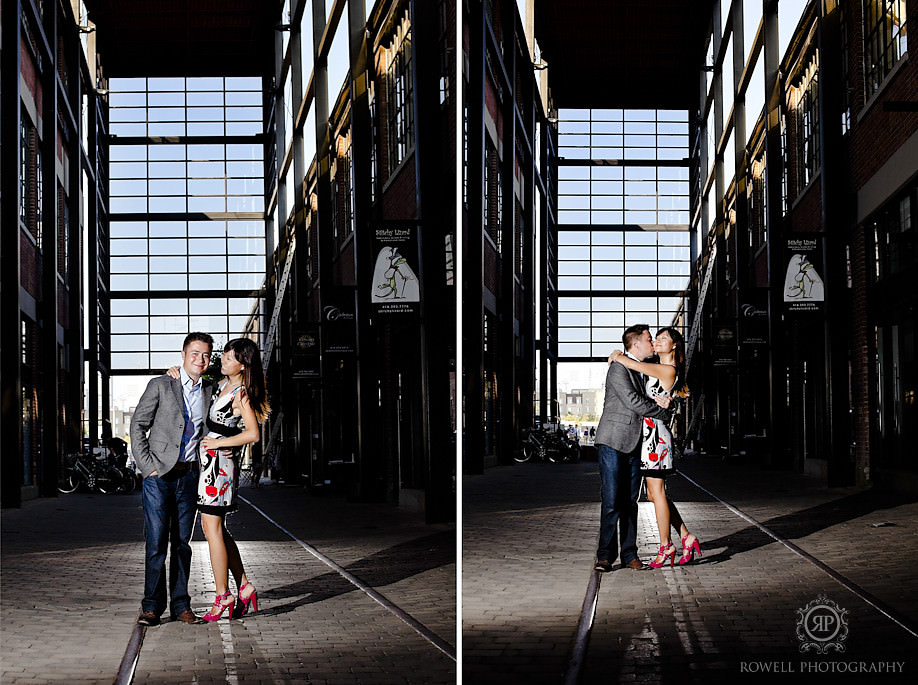 muskoka wedding photographers Liberty Village Engagement   Angelina & Tyler   Toronto, ON