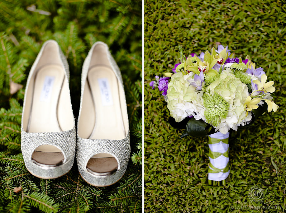 jimmy choo wedding shoes1 Alison & Dan   Taboo Resort Wedding, Muskoka