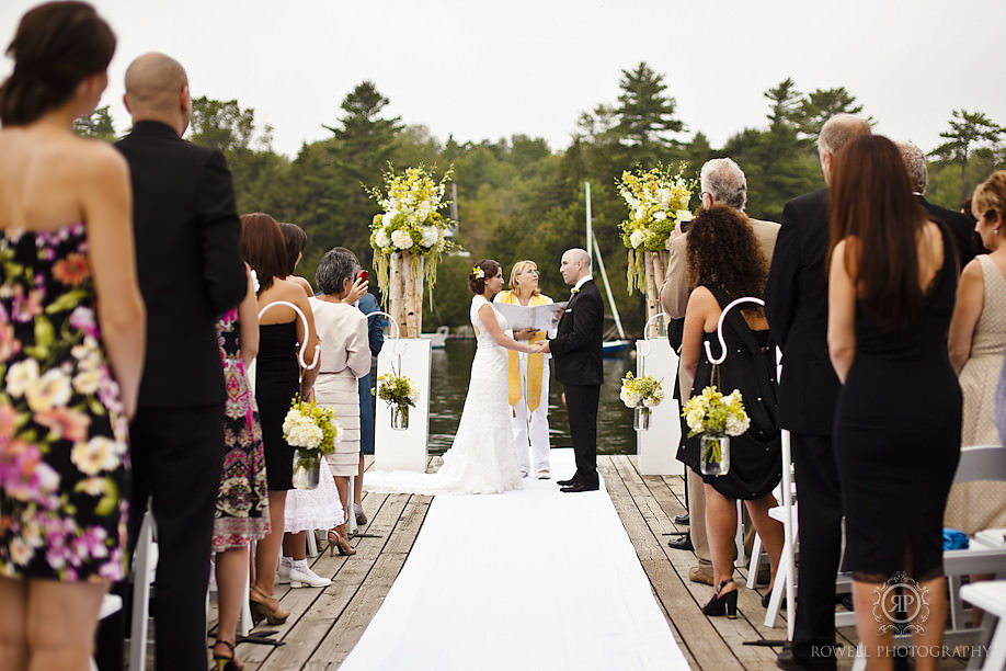 best delta rocky crest ceremonies Natalie & Phil   Delta Rocky Crest Resort   Muskoka, ON