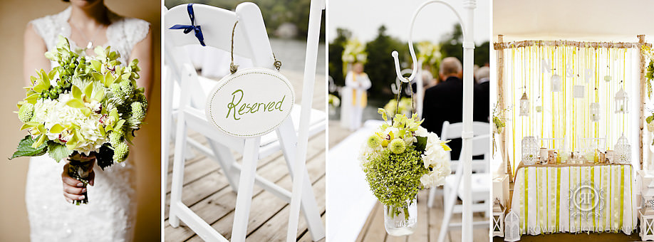 rachel a clingen wedding decor Natalie & Phil   Delta Rocky Crest Resort   Muskoka, ON