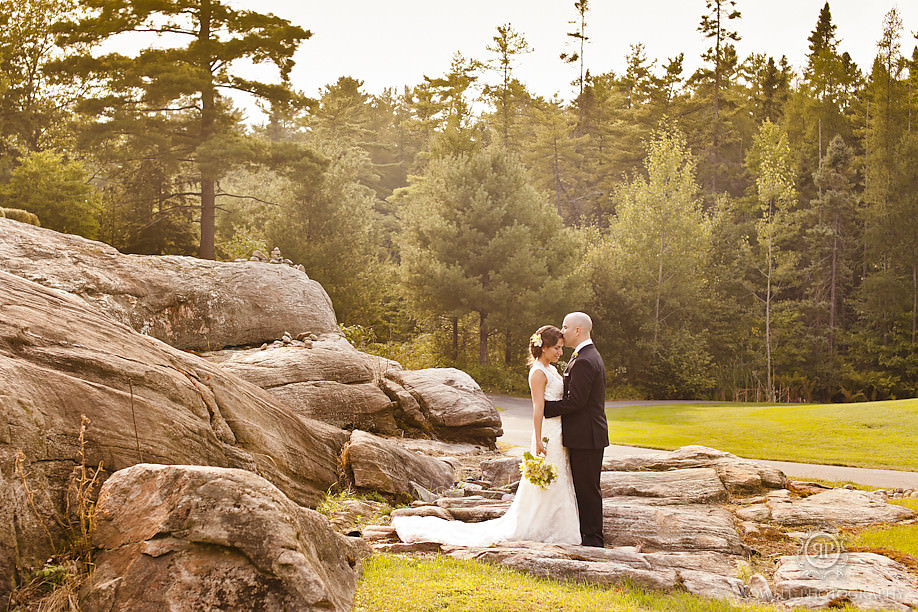 romantic muskoka weddings1 Natalie & Phil   Delta Rocky Crest Resort   Muskoka, ON