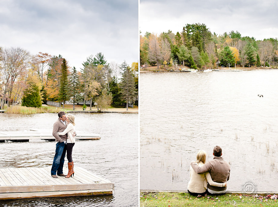 beautiful muskoka engagement session taboo resort Darren & Krista   Muskoka Engagement