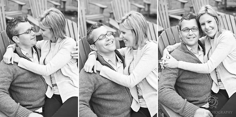 best engagement photographers muskoka Darren & Krista   Muskoka Engagement