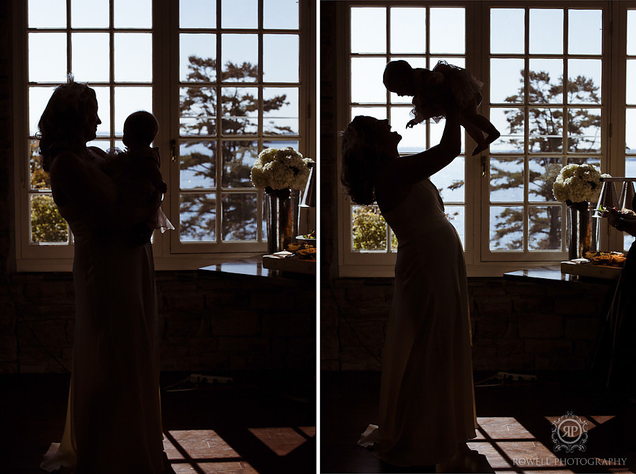 mother and child photos John & Amy   Windermere House Wedding   Muskoka, ON