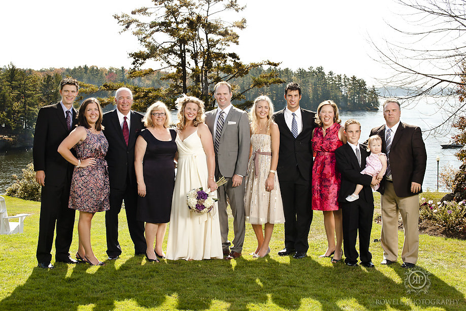 stunning family portraits Windermere House Wedding   Muskoka, ON