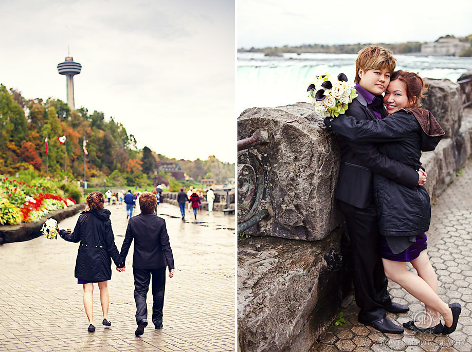 best niagara falls wedding photographers Kelly & Wayne   Niagara Falls Wedding