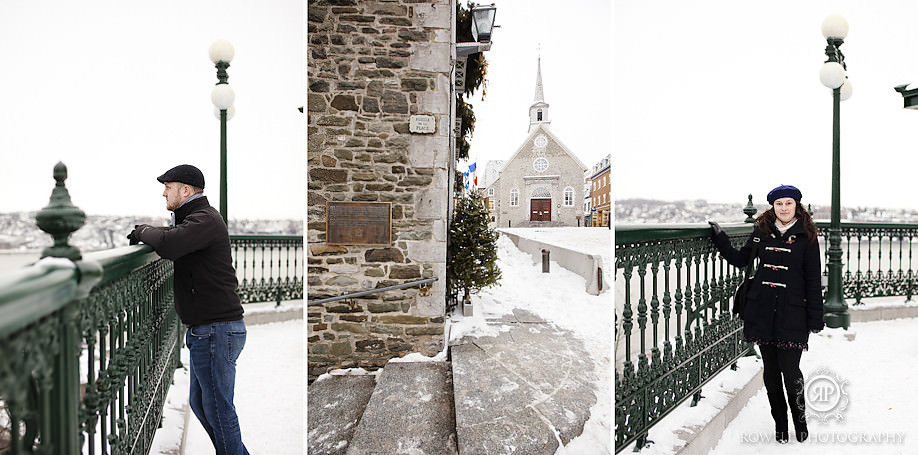 destination engagement photos quebec city Quebec City in winter