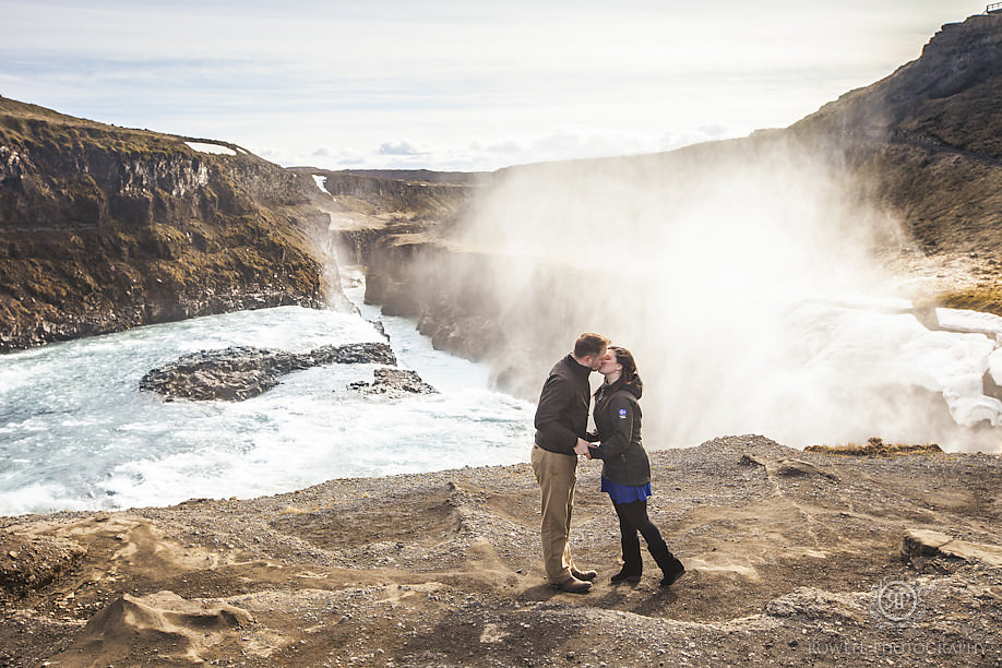 romantic iceland waterfall gullfoss Inspired by Iceland