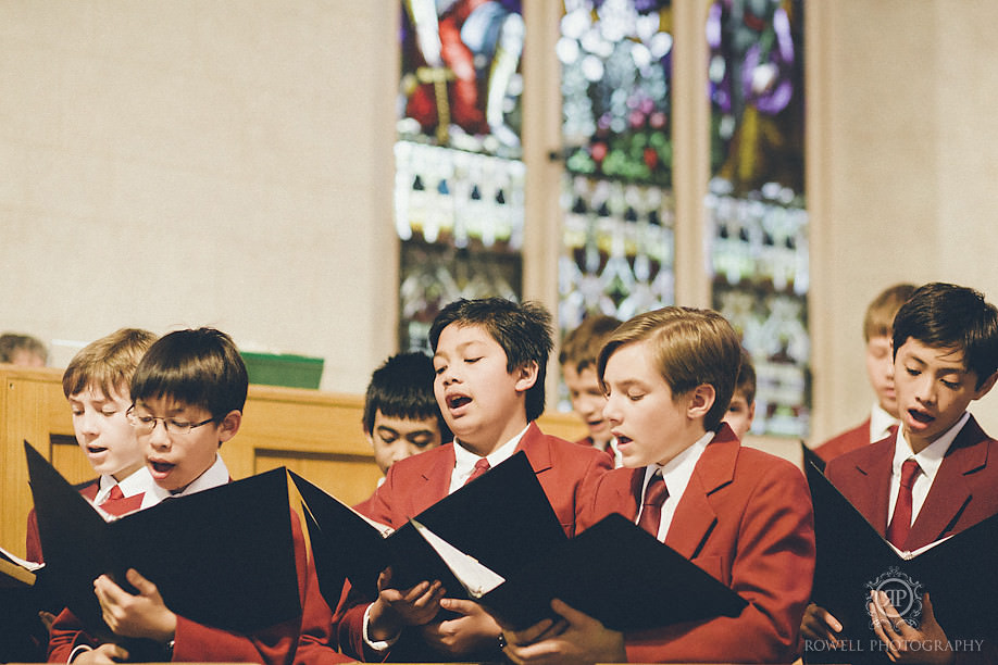st michaels boys choir toronto Paul & Yvonne   Graydon Hall Wedding