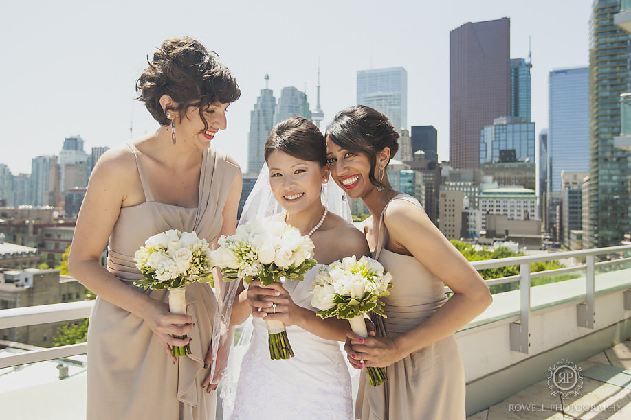 toronto rooftop wedding photos Paul & Yvonne   Graydon Hall Wedding