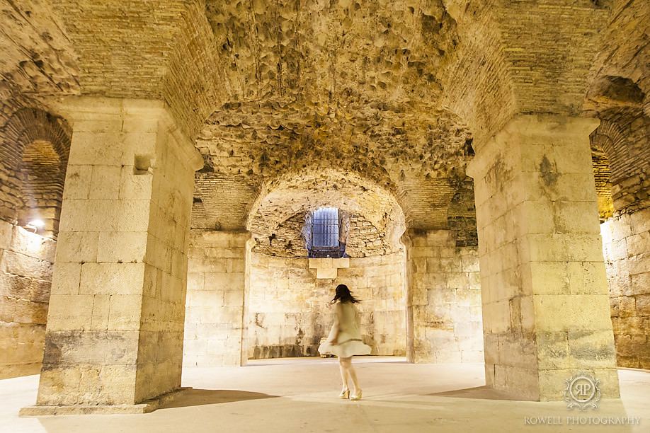 diocletians palace split croatia Honeymoon in Croatia