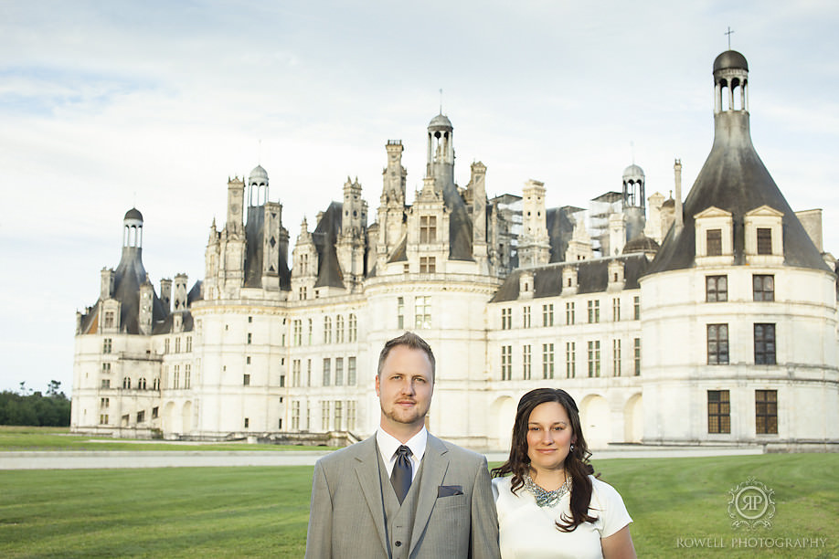 french castle edding chateau chambord Honeymoon Chateau Chambord, France