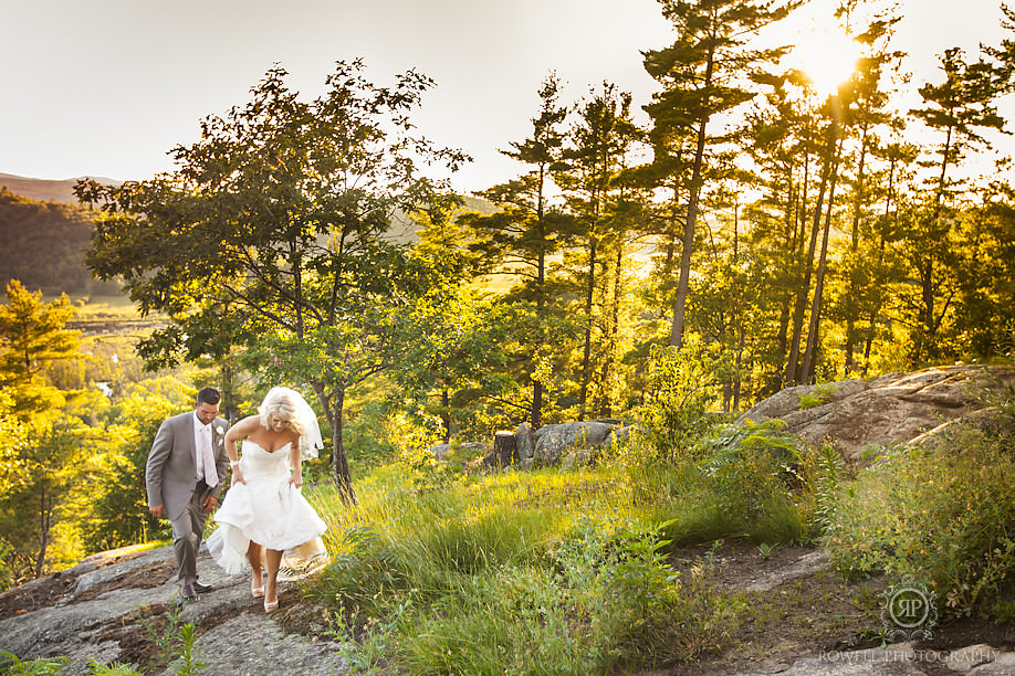 quebec wedding photography Adam & Melissa   Wakefield, Quebec Le Belvedere Wedding