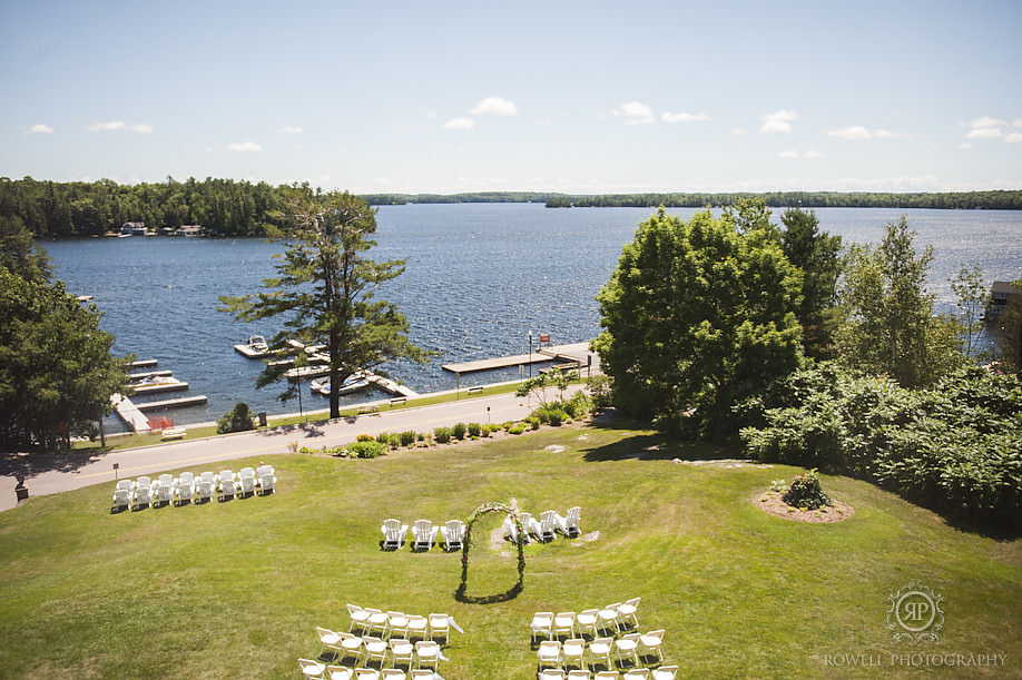 windermere house muskoka weddings Windermere House Wedding Ceremony