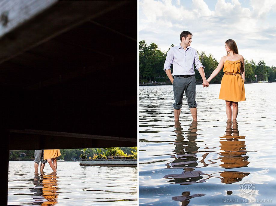 muskoka lake engagement photos Keegan & Mandy   Romantic Muskoka Engagement