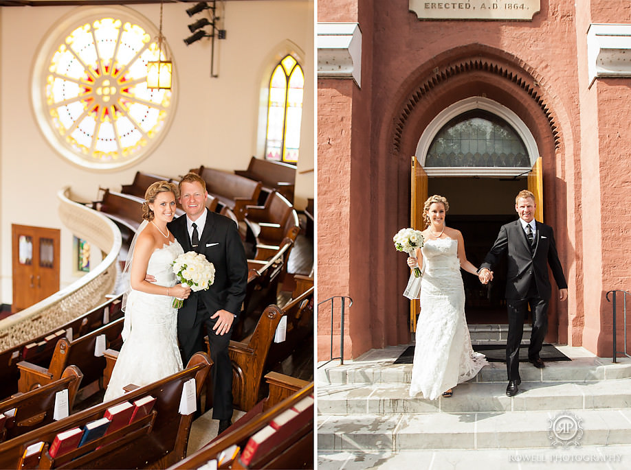 collier church wedding barrie ontario The Barrie Country Club Wedding of Rebecca & Chuck