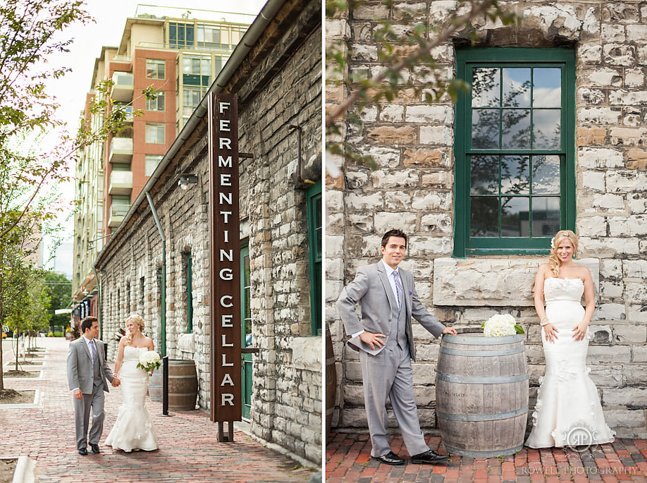 simple distillery district weddings1 The Boiler House Wedding of Caitlin & Nick, Toronto