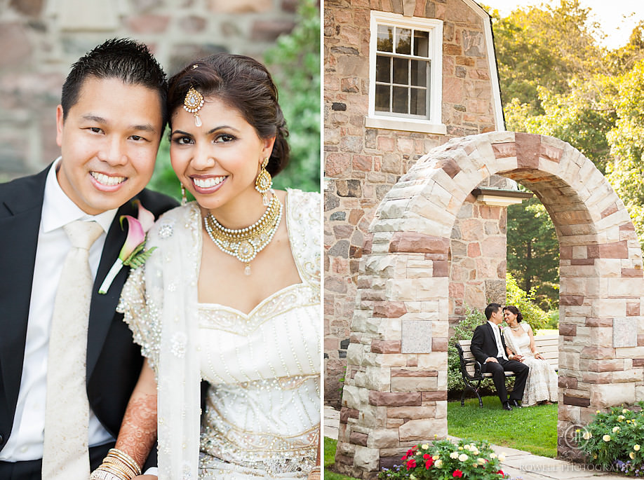simple sunnybrook estates weddings Ed & Rishvinders Estates of Sunnybrook Vaughan House Wedding