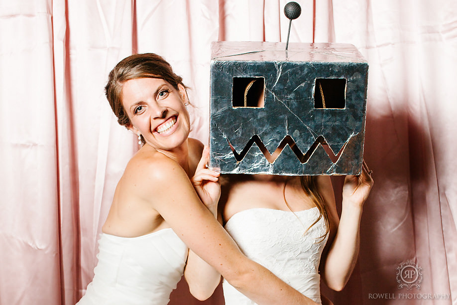 photo booth rowell photography Horseshoe Resort Wedding   Heather & Laura