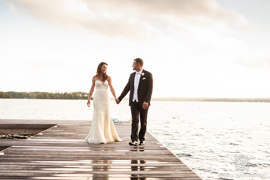 dockside wedding muskoka Touchstone on Lake Muskoka Resort Wedding   Adrienne & Rob