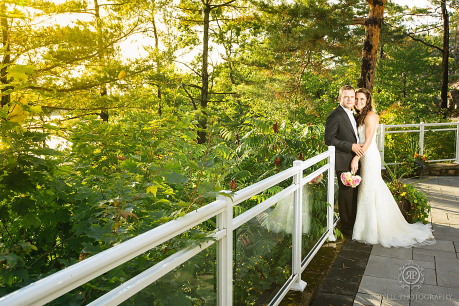 touchston resort muskoa wedding portraits Touchstone on Lake Muskoka Resort Wedding   Adrienne & Rob