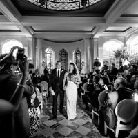 Toronto photographer captures Casa Loma wedding ceremony.
