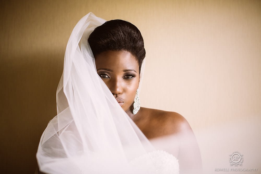 beautiful bridal portrait