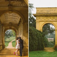 England photographers capture romantic couples photos at Stowe, U.K.
