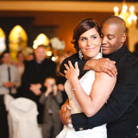 Toronto photographer captures the Old Mill wedding of CFL Toronto Argonauts defensive back Adrion Smith and wife Denise.