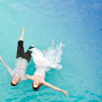 Mexico photographer captures bride and groom at grand Bahia Tulum resort in Mexico