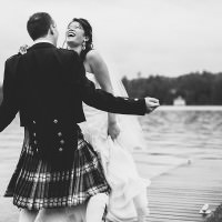 Muskoka photographer captures fun wedding at Windermere House in Muskoka.